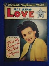 All Star Love May 1942  Rare Romance Title