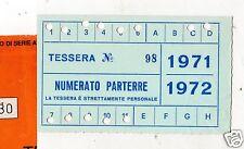 BASKET  PALLACANESTRO  TESSERA  ABBONAMENTO  SIMMENTHAL  MILANO  1971-72
