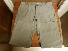 Men's Columbia Omni-Wick Advance Evaporation Convertible Pants Size 40W/32L