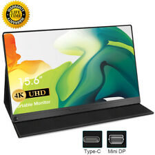 """15.6"""" 4K Portable Monitor Type-C USB C For HDMI Laptop PC PS3 PS4 SWITCH Xbox US"""