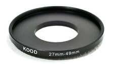 27mm-49mm 27-49  Stepping Ring Filter Ring Adapter Step up