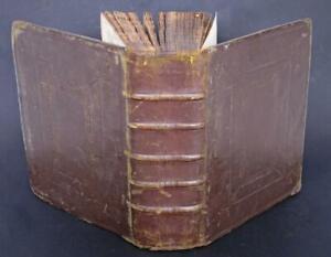 1607 HOLY BIBLE  PRE DATES KING JAMES BIBLE FINE LEATHER BINDING Prayer Book