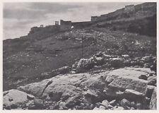 D3435 Erice - Acropoli dell'edilizia popolare siciliana - Stampa - 1940 print