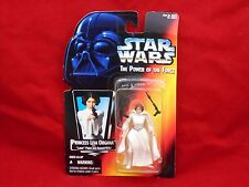 Star Wars Power of the Force Red Card Princess Leia Organa with Pistol Sealed