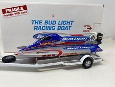 1:24 Danbury Mint Bud Light Hydropalne Boat and Trailer RARE