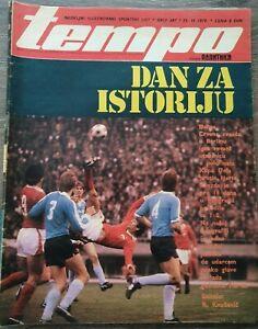 Magazine TEMPO 687 football announcement BSC Hertha Red Star Belgrade Yug 1979