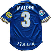 maglia italia Maldini Euro 1996 Nike Dri-fit home vintage jersey shirt NIKE