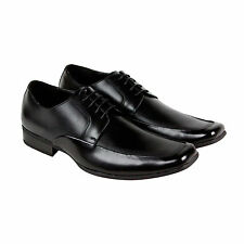 Steve Madden P-Melvil Mens Black Leather Casual Dress Lace Up Oxfords Shoes 13