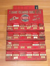 Old Vtg Federal Mogul Engine Bearing Shim Set Garage Display Rack W/ Guide Book