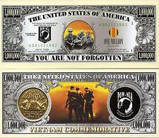 Vietnam-You Are Non Forgotten Million Dollar Nouveauté Monnaie