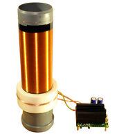 24V SSTC Solid State Tesla Coil Bausatz mit Fertigmodul Teslatrafo high voltage