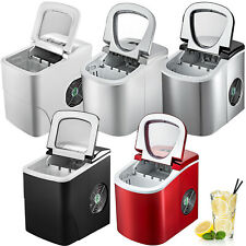 VEVOR Portable Ice Maker Machine Countertop 12KG/24H 2 Cube Size with Ice Scoop