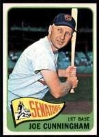 1965 Topps Joe Cunningham Washington Senators #496