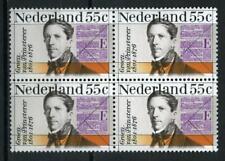 Nederland 1976 Groen van Prinsterer 1090 blok v 4 - POSTFRIS