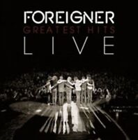FOREIGNER Greatest Hits Live CD BRAND NEW