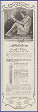 Vintage 1920 NU BONE Corsets Women's Undergarments Lingerie Fashion 20s Print Ad