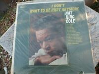 Nat King Cole I Don't Want To Be Hurt Anymore Capitol Record T-2118 LP Vinyl New