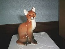 Vintage Lomonosov Porcelain Red Fox Made in Ussr