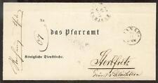 HANAU 1867 nach STERBFRITZ TuTAXIS (L8243a