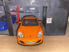 RARE 1/18 SCALE PORSCHE 911 TURBO HOTWORKS DIECAST MODEL CAR.