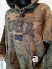 Under Armour Men's Project Rock Veteran's Day Camo HOODIE NWT   size medium