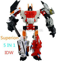 Transformers HZX Superion 5 In 1 Action Figure Upgrade Version KO In Stock 12""