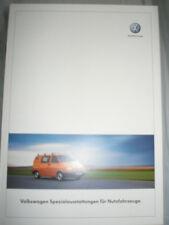 VW LT Van Special conversions range brochure Sep 2002 German text Police, Fire