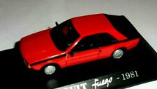 car 1/43 U.H. for M6 RENAULT FUEGO 1981 RED NEW BOX