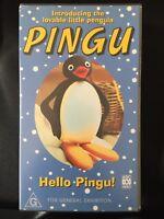 PINGU ~ HELLO PINGU! ~ RARE VHS VIDEO