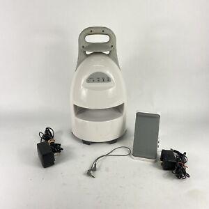 Brookstone Wireless Outdoor Weather Resistant Speaker 150' Range W/ Dock & AC