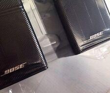 2 Bose Jewel Double Cube Speakers Premium In Black-Flawless.