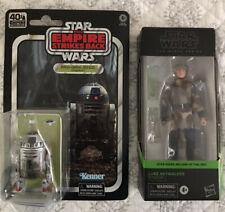 Star Wars Black Series 6? Figures: Luke Skywalker Endor & 40th Anniversary R2-D2