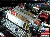 Fits Corvette C4 1994-1996 FUEL RAIL COVERS Stainless steel engine chrome LT1