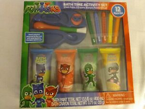 PJ Masks Bath Time Activity Set - New