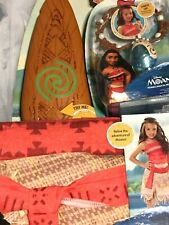 Disney's Moana's Adventure Outfit, Magical Necklace and Magical Oar Size 4 - 6X