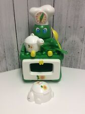 Vintage Irwin Zoodleland Zoodle Land Kusan Turtle Toy Stove, Accessories, RARE