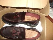 Dr.Martens Adrian Loafers Burgundy Tassel  Shoes Size Uk 10 / Eu 45/US 11 (1919)