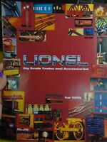"""1978 LIONEL TRAINS CONSUMER CATALOG, excellent, """"Mickey Mouse Express"""" advert"""