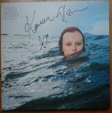 KAREN ELSON - DOUBLE ROSES WHITE VINYL LP - SIGNED AUTOGRAPHED