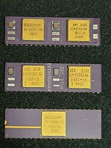 DEC PDP Set of 3 Chips... CPU, FP and MMU
