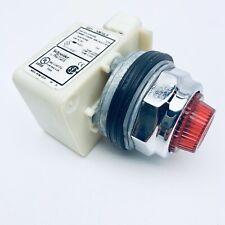 SQUARE-D 9001 KM38LR LIGHT MODULE RESIST 120V LED RED