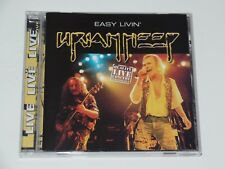 Easy Livin' (Live) - Uriah Heep (CD 2002) Netherlands Import Like NEW CD