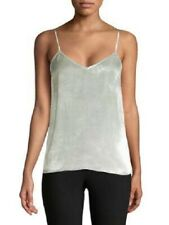 EQUIPMENT FEMME Layla V-neck Camisole In Mineral Grey SIZE MEDIUM - NWT