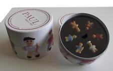 Feves Personnalisées - COFFRET MAISON PAUL 2016 - 6 Sujets 3cm. Environ