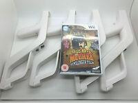 MAD DOG McCREE GUNSLINGER PACK NINTENDO Wii PAL VIDEO GAME + 4 NEW GUNS ZAPPER