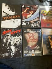 Lot # 18 - Previously Viewed Lot Of 6 Movies- Taken, Sin City, Votes For Women