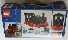 LEGO - 40370 40th Anniversary Train Set Steam Engine *few MISSING small parts*