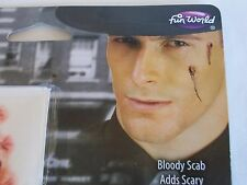 Halloween 1920s Gangster Scars Tattoos Bloody Scab Makeup Kit Costume Theater