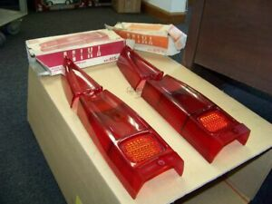 NOS peugeot 404 tail light  lens set