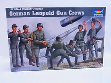 Interhobby 43579 Trumpeter 00406 German Leopold Gun Crews 1:35 Bausatz OVP